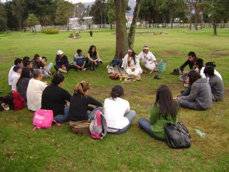 Con la comunidad en el Humedal El Salitre