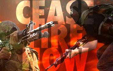 Cese al Fuego en Gaza ¡Ahora!