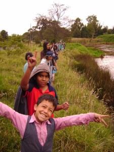Caminata por el Humedal Salitre con la Casa de la Cultura de Barrios Unidos
