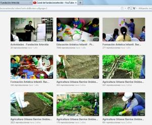 Canal de Youtube de nuestra Fundación