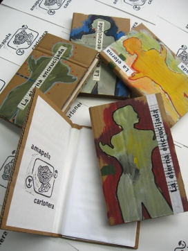 Libro cartonero de poesía romántica de Rafael Pombo